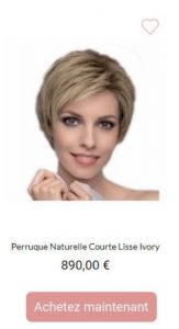 Perruque Ivory