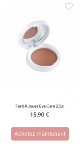 fard à joues EyeCare