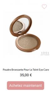 poudre bronzante eye care