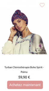 Turban Boho spirit Christine Headwear 1001Perruques.com
