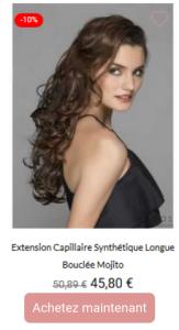 extension capillaire longue