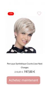 perruque next femme - 1001Perruques.com