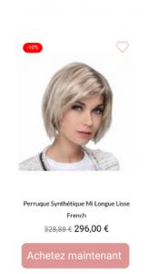 Perruque femme french - 1001perruques.com