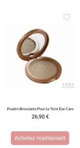 poudre de teint lumiere eye care - 1001perruques.com