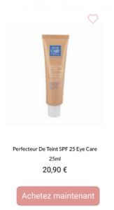 Perfecteur de teint eye care - 1001perruques.com