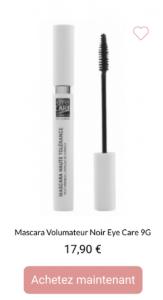 mascara volumateur eye care - 1001perruques.com