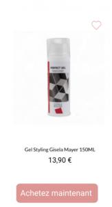 Gel Styling - 1001perruques.com
