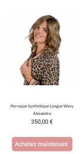 Perruques - Alexandra