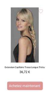 Extension Capillaire Tresse Longue Tricky - 1001perruques.com