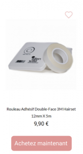 Rouleau adhésif - 1001Perruques