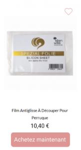 Film antiglisse - 1001Perruques