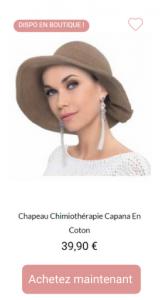 Chapeau Capana - 1001Perruques