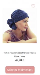Turban Mila - 1001Perruques