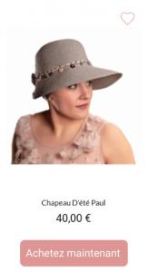Chapeau Paul - 1001Perruques