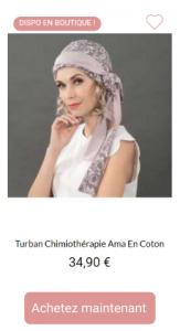 Turban Ama - 1001Perruques
