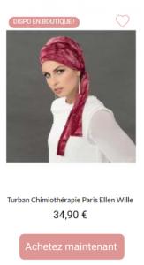 Turban Paris - 1001Perruques