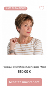 Perruque synthétique Marie - 1001Perruques
