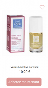 Vernis amer - 1001Perruques