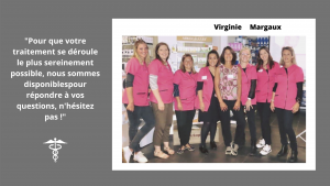 Equipe de la pharmacie du Manoir à Halluin - 1001Perruques