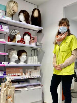 Les perruques médicales en pharmacie, témoignage de Marie de la Pharmacie de Hem