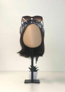 Les accessoires pour cheveux tendances de l'été 2021 Misu blue white