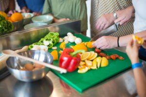 Atelier culinaire alimentation équilibrée